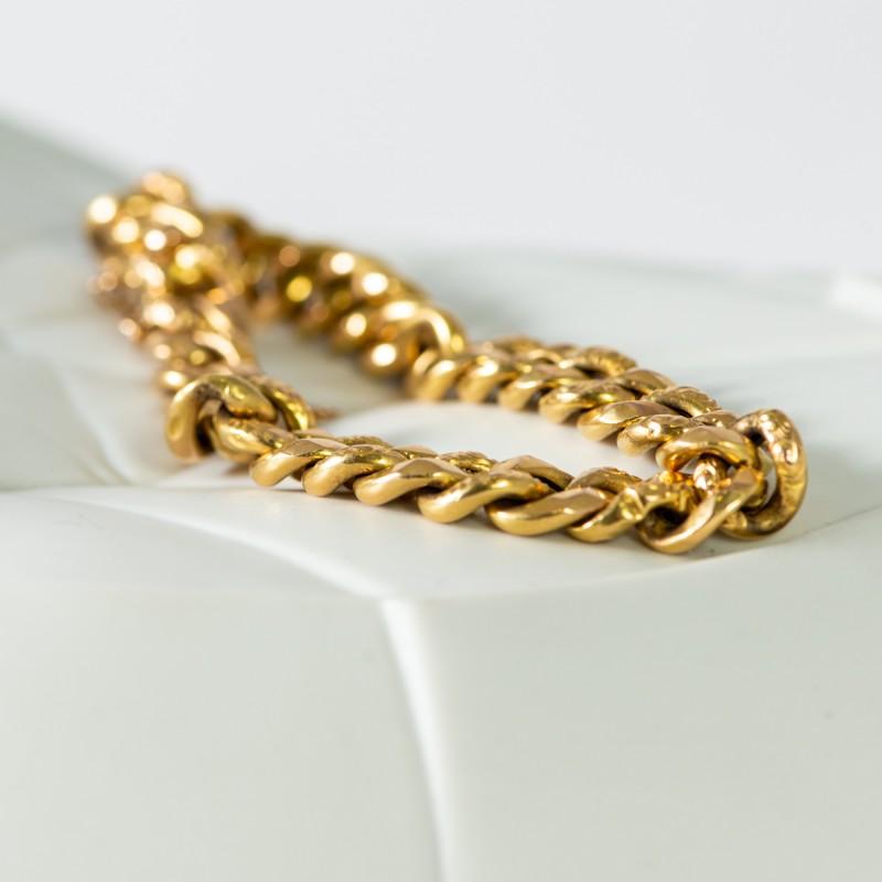 Bracciale groumette  oro giallo