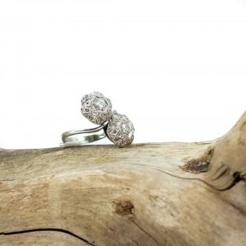 Anello contrarier diamanti 1970