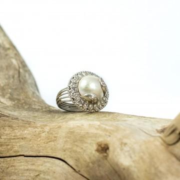 Anello perla mabè inizio 1900