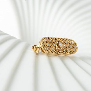 Spilla 1970 oro giallo e diamanti